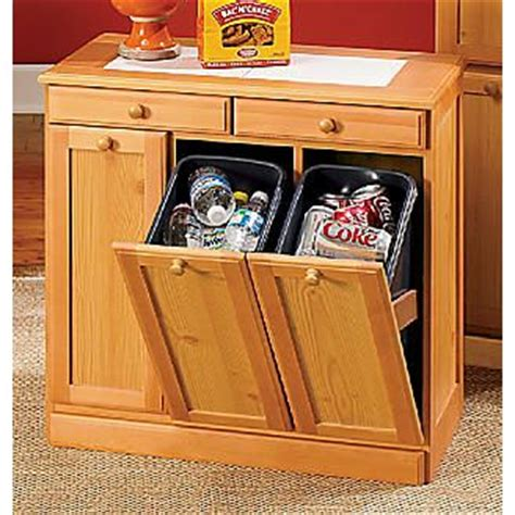 Kitchen Cabinet Trash Bin Kitchen But As Part Of The Built In Cabinets Home Styling Storage Bins