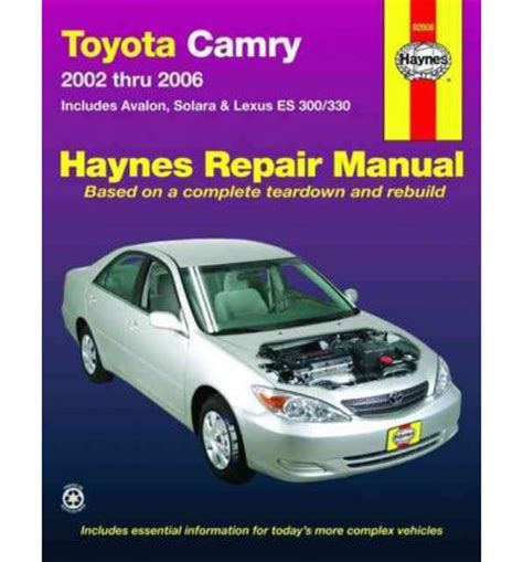 old cars and repair manuals free 2006 toyota corolla free book repair manuals toyota camry 2006 owners manual toyota camry avalon 2002 2006 haynes service repair manual