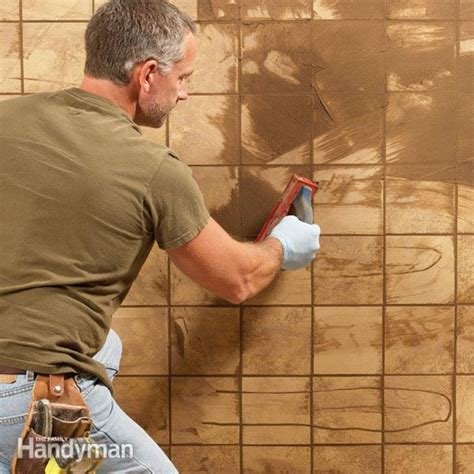 bathroom grouting tips grouting tips and techniques the family handyman