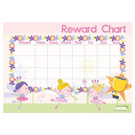 magnificent blank reward chart ideas resume ideas