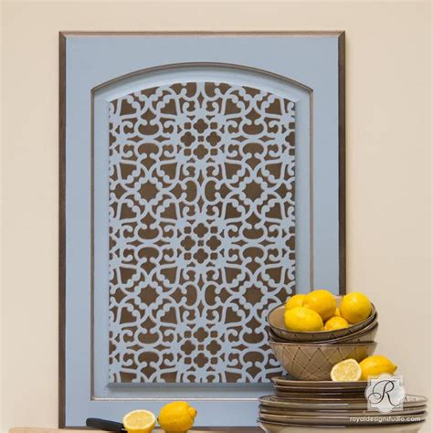 stencils for cabinet doors 262 best images about repurposed cupboard doors on