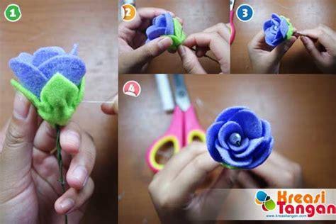 tutorial kerajinan tangan dari kardus tutorial membuat flowerhand dari kain flanel kain flanel
