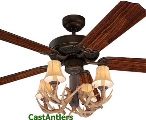 Rustic Lodge Ceiling Fans 52 Inch Rustic Cabin Lodge Antler Ceiling Fan Drk Ebay