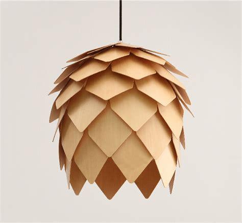 Pine Cone Light Fixtures Wholesale New Modern Novelty Creative Pine Cone Pendant Light L Wood Lshade Pendant