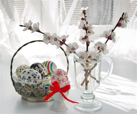 decorative easter eggs for easter trees decor