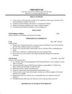 Sle Resume Template For Seafarers New Exle Of Resume Of Seafarer Exle