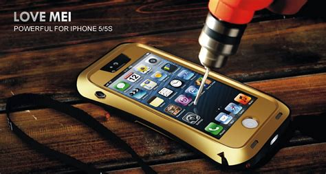 Iphone 6 6s Bumper Armor Mei Powerful Small Waist Back Cover Iphone 5s 5 Mei