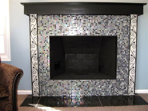 350 best mosaic fireplace images on mosaic