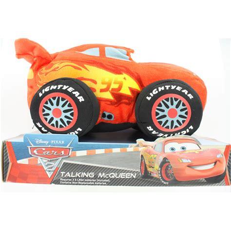 disney pixar cars the toys forums disney pixar cars 2 talking lightning mcqueen plush toy