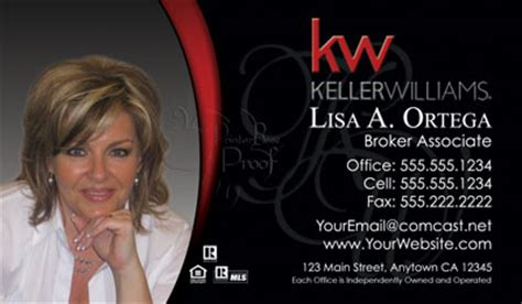 Keller Williams Realty Business Card Templates by Keller Williams Business Cards 69 99 Professionally