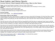 boat safety lessons water skiing lesson plans worksheets reviewed by teachers