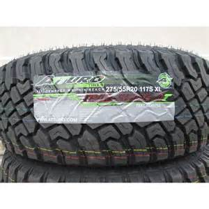 Trail Blade Mud Tires 275 55r20 Atturo Trail Blade Xt Mud Terrain Tires