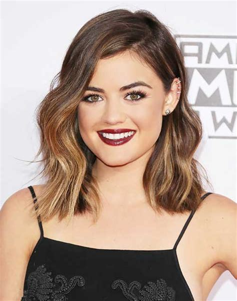 20 shoulder length haircuts hairstyles 2016