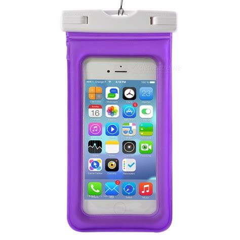 Waterproof Bag Pvc Abs Clip For Iphone 6 Plus T1910 1 waterproof pvc abs bag pouch with arm band for iphone x iphone 6 plus 6s plus 7 plus 8