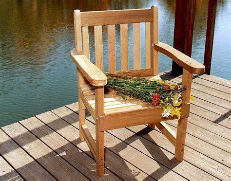 Red Cedar English Garden Patio Chair