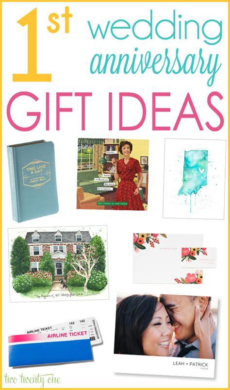 1st wedding anniversary gift ideas paper gift ideas