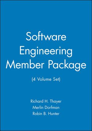 my engineer software my dreamer vol 2 volume 2 books wiley software engineering member package 4 volume set