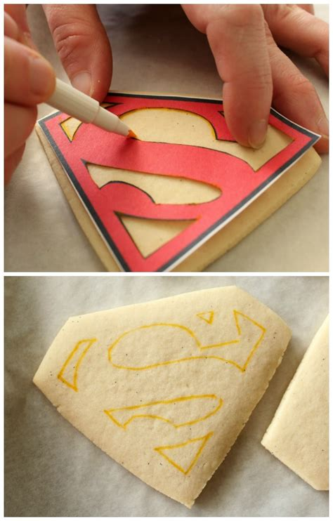Stencils For Cookie Decorating by Superman Cookies The Sweet Adventures Of Sugar