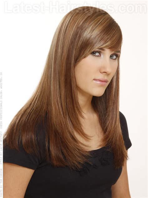 womens haircuts without bangs spice up long hair with sweet layers like these find even