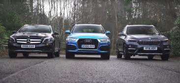 Bmw And Audi Compact Suv Comparison Finds Bmw X1 Is Better Than