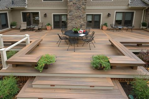 backyard deck pictures baltimore fiberon deck