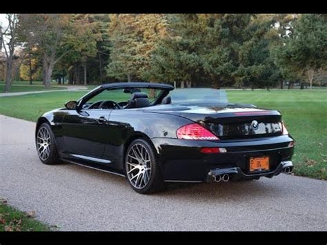 how it works cars 2008 bmw m6 engine control 2008 bmw m6 convertible www nationalmusclecars com national muscle cars youtube