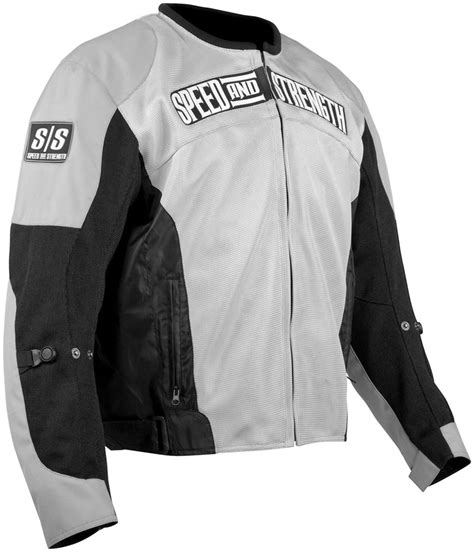 street bike jackets speed and strength trial by fire mesh motorcycle jacket