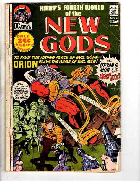 New Gods # 4 VG DC Comic Book Orion Darkseid Justice ...