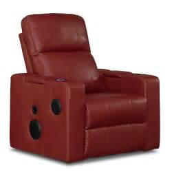 apollo leather home theater recliner american signature
