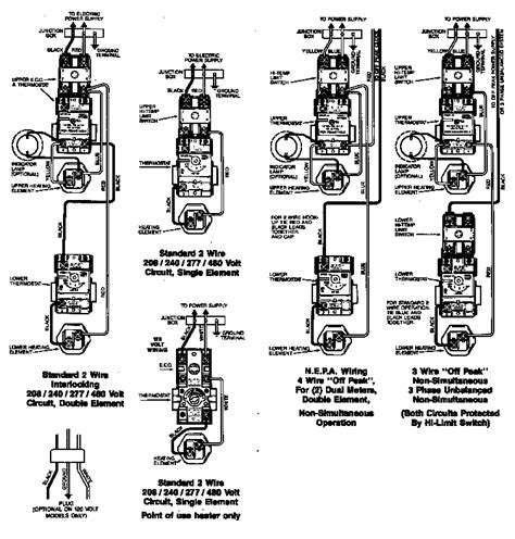 richmond electric water heater wiring diagram engine