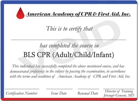 Online Cpr Certification 14 99 Free Cpr First Aid Course Bls Healthcare Provider Card Template