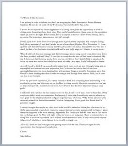 Best Resignation Letters Sles by A With A Greatest Resignation Letter Of All Time