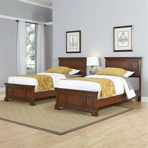 beds for twins home styles chesapeake panel 3 piece bedroom set wayfair