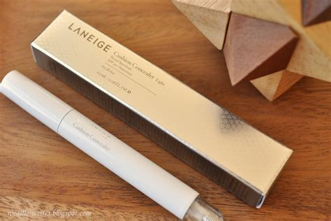 Laneige Concealer rocaille writes a pillow for your laneige