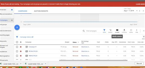 Tracking Templates In Google Ads Adwords Detailed Adwords Tracking Template