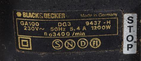 black decker ga 100 images for 142180 kompostkvarn black decker ga 100