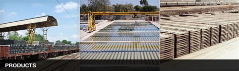Concrete Sleeper Plant In India manufacturer of prestressed concrete railway sleepers from
