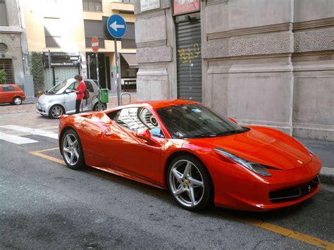 Ferrari 458 Italy by File 10 Italy Ferrari 458 Italia Rossa A Milano 11
