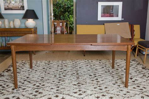 Dining Tables With Leaves That Pull Out Hans Wegner Attributed Dining Table With Pull Out Leaves At 1stdibs