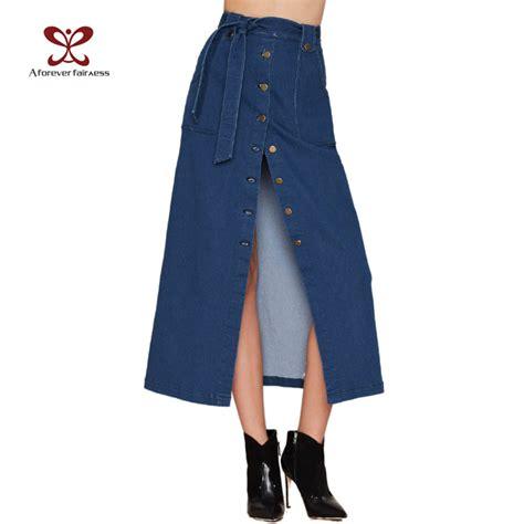2016 new denim skirts skirt high waist