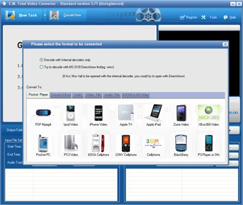 effectmatrix complete solution for video conversion on 10 aplikasi converter video terbaik dan gratis untuk pc