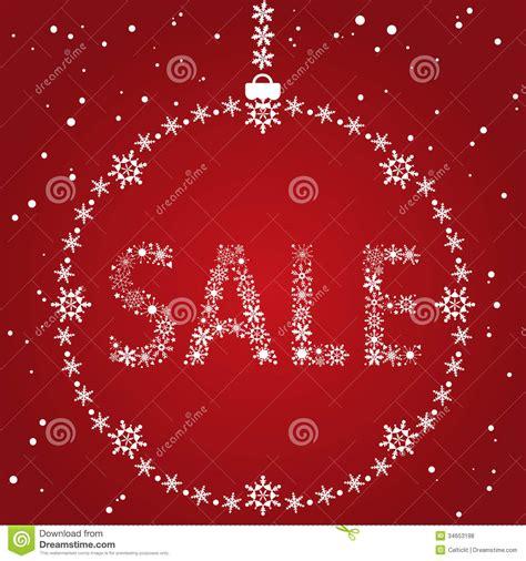christmas sale design stock vector illustration  background