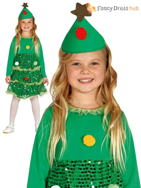 xmas tree model for fancydress tree costume childs toddler fancy dress novelty ebay