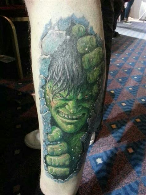 incredible hulk tattoos the tattoos and piercings