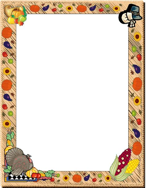 Design Your Own Home Online Australia by Free Thanksgiving Borders And Frames 3 Free Clipart