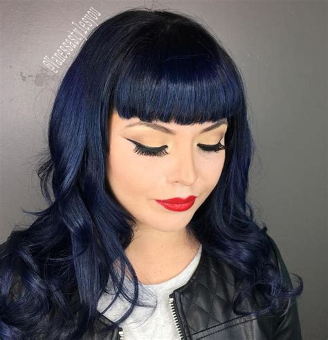 hairstyles add black with bluesh tones to dark brown hair best 20 blue black hair color ideas on pinterest