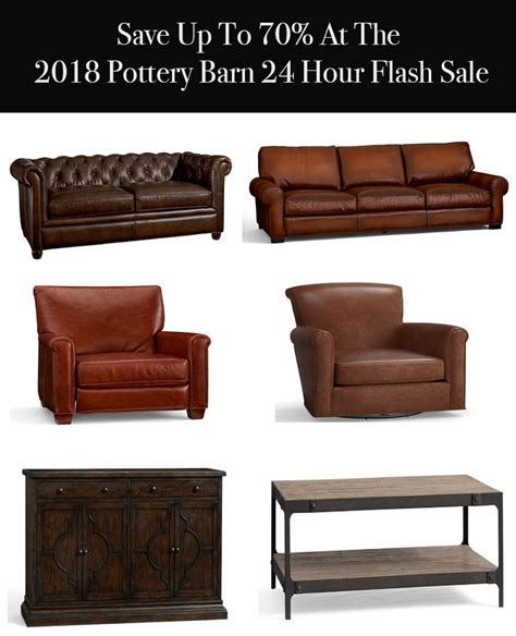 2018 pottery barn flash sale furniture home decor up to