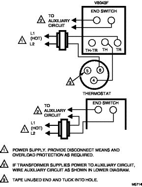 honeywell v8043f wiring diagram get free image about