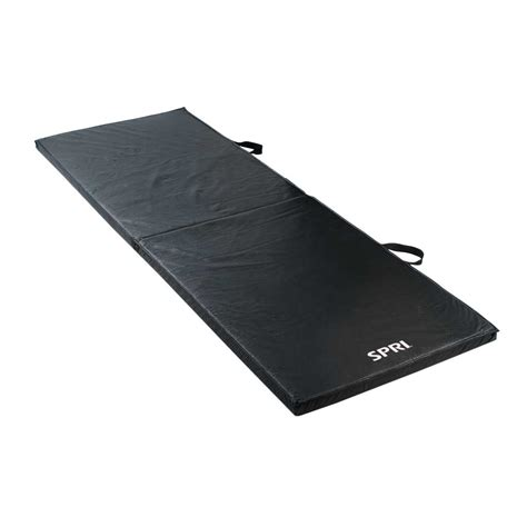 workout matte spri folding exercise mat 72 inch spri