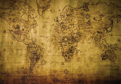 imagenes vintage sepia sepia world map vintage wall paper mural buy at europosters